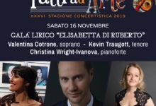 Photo of Torna la lirica a Lucera con un trio internazionale | Concerto il 16 novembre in Sala Paisiello