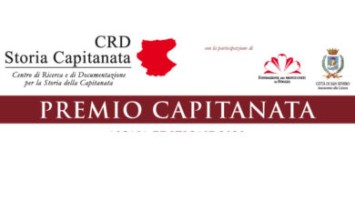 Photo of Premio Capitanata, pubblicato il bando della nona edizione Gli elaborati dovranno essere consegnati entro il 18 aprile 2020