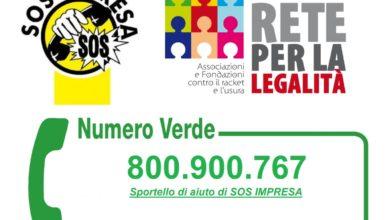 Photo of Sos Impresa: pronto pacchetto di iniziative per Foggia Come aiutare le vittime di racket attraverso l'Adozione Sociale