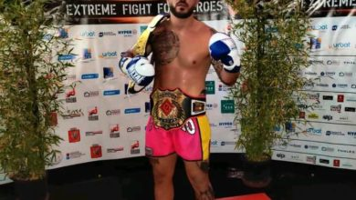 Photo of Un giovane campione di boxe thailandese orgoglio vichese!