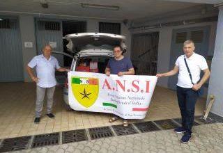 Photo of Continua la raccolta e la consegna di beni di prima necessità, da parte dell'ANSI San Severo alle famiglie bisognose.