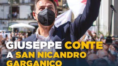 Photo of Il presidente Giuseppe Conte a San Nicandro Garganico il 19 settembre