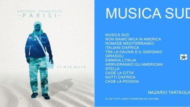 """Photo of CANTAUTORI – """"IL MIO MARE"""" E """"MUSICA SUD"""", ON LINE GLI ALBUM DI PARISI E TARTAGLIONE"""