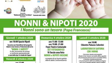 Photo of LA FESTA DEI NONNI & NIPOTI 2020 – I NONNI SONO UN TESORO (PAPA FRANCESCO) – DA GIOVEDI' 1 OTTOBRE