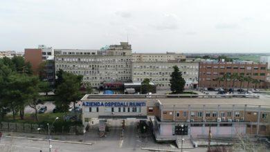 Photo of Sono 179 i pazienti Covid ricoverati al Policlinico Riuniti di Foggia