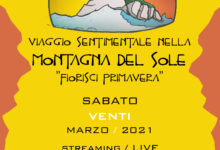 Photo of FIORISCI PRIMAVERA in diretta streaming – Un Viaggio sentimentale nella Montagna del Sole