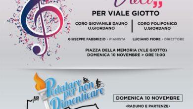 """Photo of FOGGIA: """"Voci"""" per Viale Giotto – l'omaggio dei pompieri nel ventesimo anniversario del crollo"""