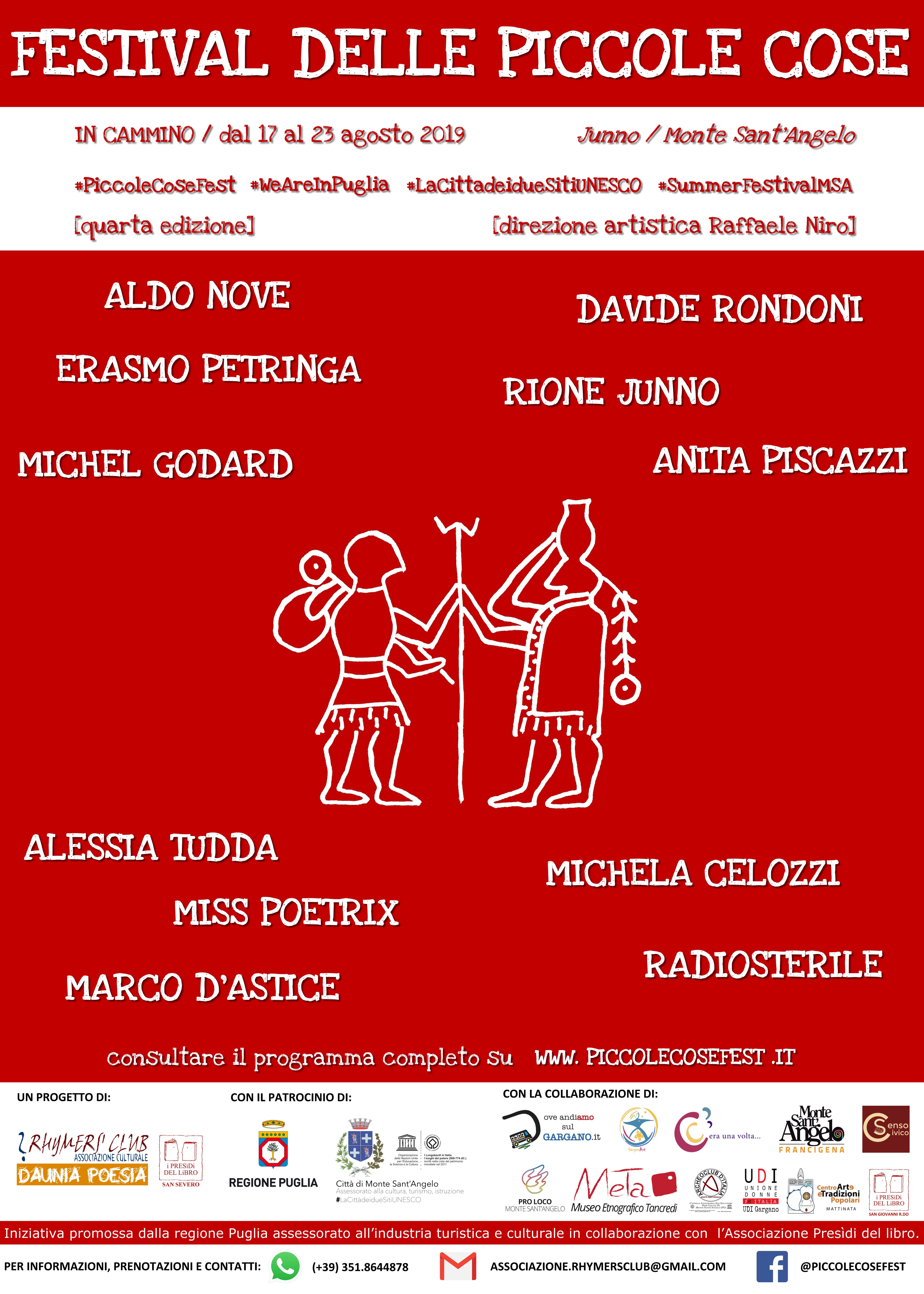 """Photo of Festival delle piccole cose IV Edizione dal 17 al 23 agosto 2019 Centro storico di Monte Sant'Angelo """"In cammino"""""""