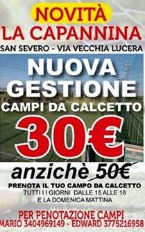 """Photo of La ASD Gioventù Calcio San Severo prende in gestione i Campi de """"LA CAPANNINA"""""""
