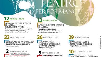 Photo of Estate, muse, stelle: l'Anfiteatro di Lucera rinasce tra arte, teatro, musica e danza