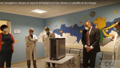 Photo of Nicola Tartaglione dona al reparto di Pediatria di San Severo un gioiello di tecnologia