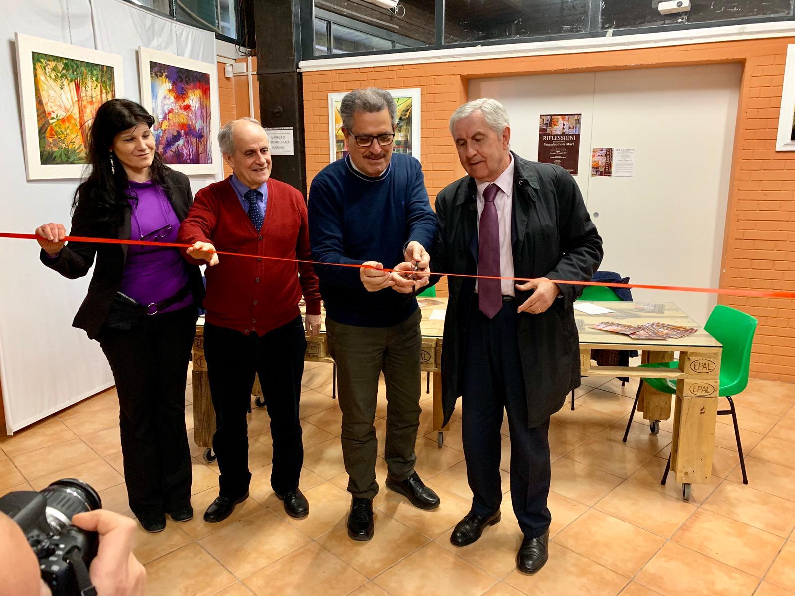 """Photo of Presentata """"Riflessioni"""", la personale di Muré a """"Parcocittà"""""""