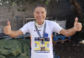 Photo of Ravenna: Medaglia d'Argento per il 68enne atleta sanseverese Scanzano Francesco