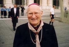 """Photo of """"Larghetto Mons. Silvio Cesare Bonicelli"""" La Giunta Comunale decide di dedicare uno spazio pubblico allo stimato Vescovo"""