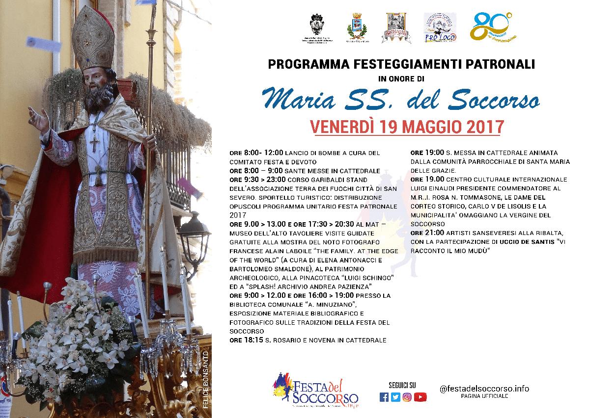 Photo of Programma dettagliato della giornata di venerdì 19 maggio – Festa del Soccorso 2017